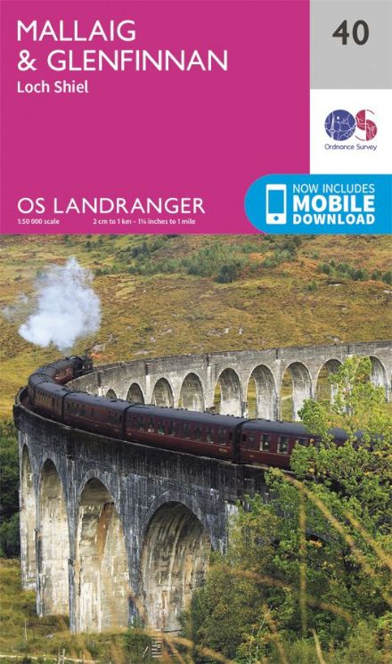 OS Landranger 40 - Mallag and Glenfinnan